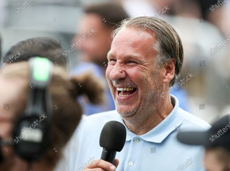 Paul Merson in the crowd