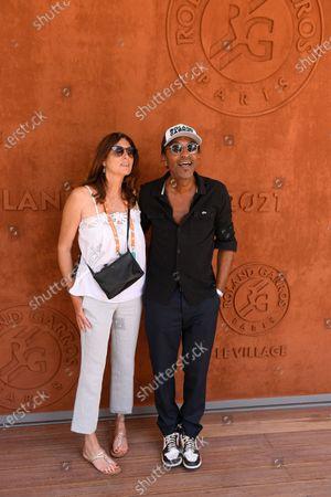 Editorial photo of French Open Tennis, Roland Garros, Paris, France - 11 Jun 2021