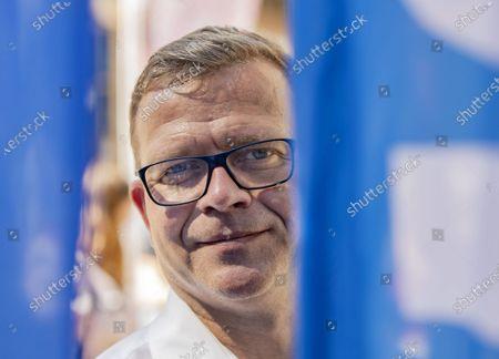 Editorial photo of Petteri Orpo kampanjoi, Turku, Finland - 11 Jun 2021