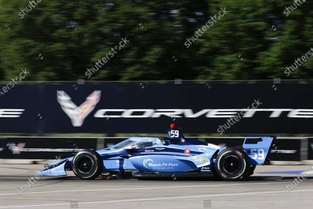 THE RACEWAY ON BELLE ISLE, UNITED STATES OF AMERICA - JUNE 11: #59: Carlin, Chevrolet, Max Chilton at The Raceway on Belle Isle on Friday June 11, 2021 in Detroit, United States of America. (Photo by Jake Galstad / LAT Images)