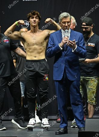 Editorial picture of Weigh-In for Social Gloves: Battle of the Platforms' Hollywood, Florida, USA - 11 Jun 2021