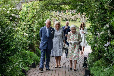 Editorial photo of G7, Cornwall, United Kingdom - 11 Jun 2021