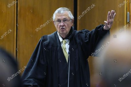 Editorial image of Passing The Gavel, Greenville, United States - 11 Jun 2021