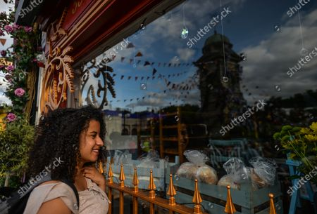 Editorial picture of Enniskerry Village Getting Ready For Disney's 'Disenchanted' Movie, Ireland - 11 Jun 2021