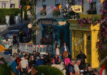 Editorial image of Enniskerry Village Getting Ready For Disney's 'Disenchanted' Movie, Ireland - 11 Jun 2021