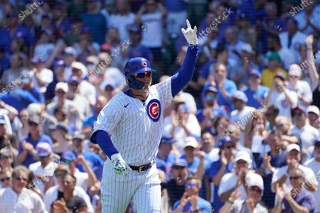 Editorial picture of Cardinals Cubs Baseball, Chicago, United States - 11 Jun 2021
