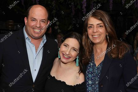 Brian Stelter ,Jamie Stelter and Nancy Abraham (EVP HBO Documentary)
