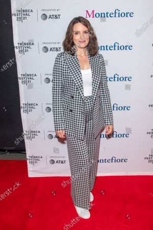Stock Picture of Actress Tina Fey attends the 2021 Tribeca Festival Tribeca TV Panel: Tina Fey & Co. at Spring Studios.