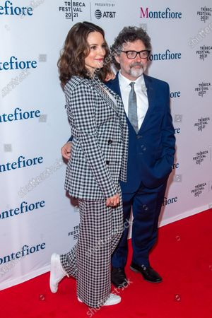 Stock Image of Actress Tina Fey and composer Jeff Richmond attend the 2021 Tribeca Festival Tribeca TV Panel: Tina Fey & Co. at Spring Studios.