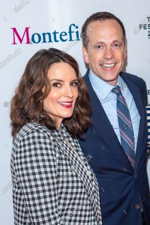 Tina Fey and Robert Carlock attend the 2021 Tribeca Festival Tribeca TV Panel: Tina Fey & Co. at Spring Studios.