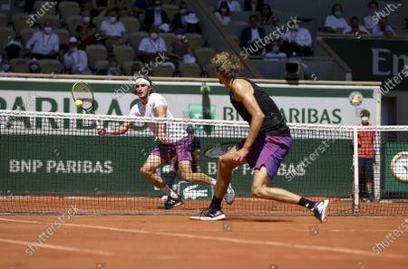 French Open Tennis, Day Thirteen