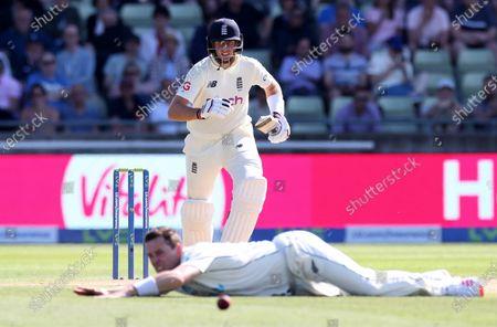 Editorial image of England v New Zealand, Cricket, 2nd Test, Day 3, LV Insurance Series, Edgbaston Stadium, Birmingham, UK - 12/06/2021
