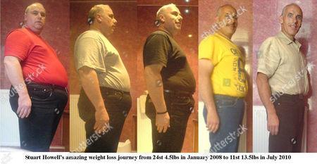 Stuart Howells slimming progress
