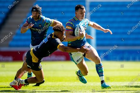 Editorial photo of Wasps v Leicester Tigers, Gallagher Premiership Rugby - 12 Jun 2021