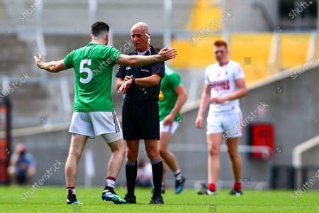 Editorial picture of Allianz Football League Division 2 Relegation Play-off, Pairc Ui Chaoimh, Cork - 12 Jun 2021