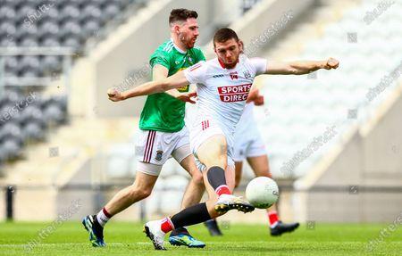Editorial photo of Allianz Football League Division 2 Relegation Play-off, Pairc Ui Chaoimh, Cork - 12 Jun 2021