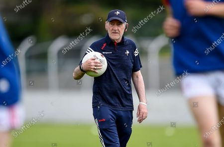 Carlow vs Louth. Louth manager Mickey Harte