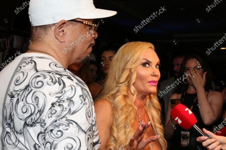 Stock Image of Ice-T and Coco