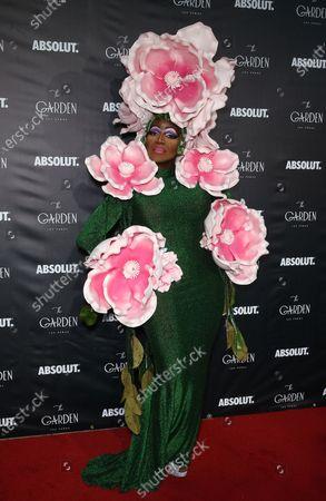 Editorial picture of RuPaul's Drag Race Winner Symone hosts 1 year anniversary celebration of The Garden, Las Vegas, USA - 11 Jun 2021