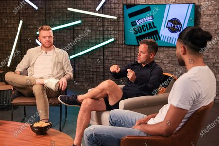 Editorial picture of The Social: European Special, JaackMaate and Joe Cole, UK - 11 Jun 2021