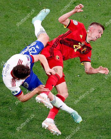 Russia v Belgium