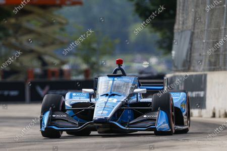 Editorial photo of IndyCar 2021: Detroit, The Raceway on Belle Isle, United States of America - 12 Jun 2021