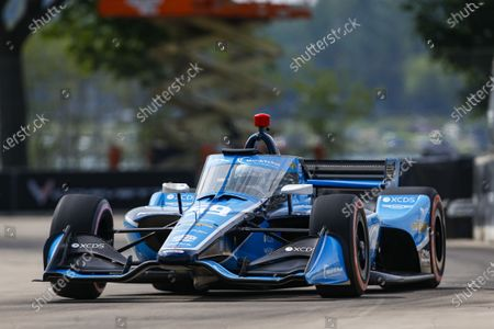 THE RACEWAY ON BELLE ISLE, UNITED STATES OF AMERICA - JUNE 12: #59: Max Chilton, Carlin Chevrolet at The Raceway on Belle Isle on Saturday June 12, 2021 in Detroit, United States of America. (Photo by Jake Galstad / LAT Images)