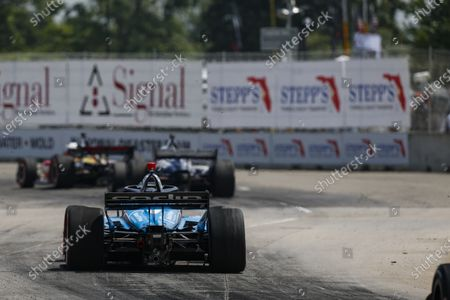 Stock Photo of THE RACEWAY ON BELLE ISLE, UNITED STATES OF AMERICA - JUNE 12: #59: Max Chilton, Carlin Chevrolet at The Raceway on Belle Isle on Saturday June 12, 2021 in Detroit, United States of America. (Photo by Jake Galstad / LAT Images)
