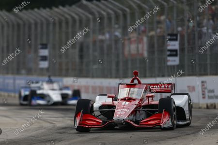 THE RACEWAY ON BELLE ISLE, UNITED STATES OF AMERICA - JUNE 12: #8: Marcus Ericsson, Chip Ganassi Racing Honda at The Raceway on Belle Isle on Saturday June 12, 2021 in Detroit, United States of America. (Photo by Jake Galstad / LAT Images)