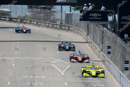 Editorial picture of IndyCar 2021: Detroit, The Raceway on Belle Isle, United States of America - 12 Jun 2021