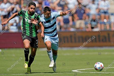 Editorial photo of MLS Austin FC Sporting KC Soccer, Kansas City, United States - 12 Jun 2021