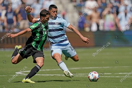 Editorial picture of MLS Austin FC Sporting KC Soccer, Kansas City, United States - 12 Jun 2021