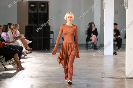 Stock Picture of Reuben Selby catwalk