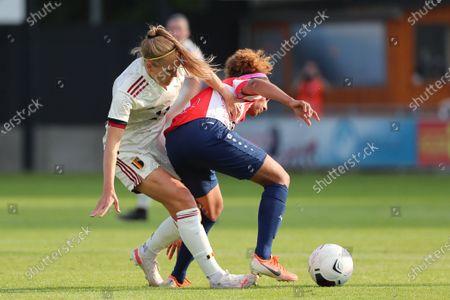 Editorial image of Luxemburg v Belgium, International Friendly Football match, Am Poetz Stadium, Wiltz, Luxemburg - 12 Jun 2021