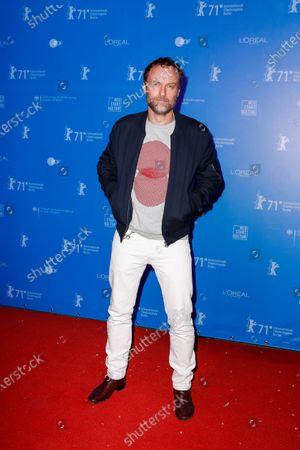 Mark Waschke attends the 'Der Menschliche Faktor' (Human Factor) premiere during the 71st Berlinale International Film Festival Summer Special at Freiluftkino Kreuzberg in Berlin, Germany, 12 June 2021.