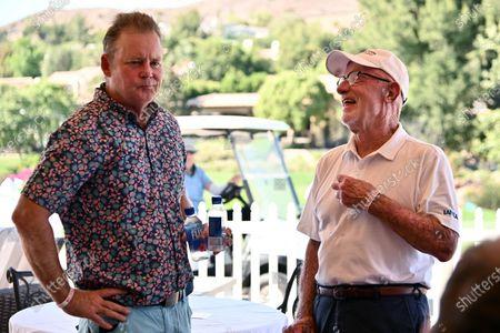 Joel Murray and Jonathan Banks
