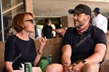 Pamela Reed and Joel McHale