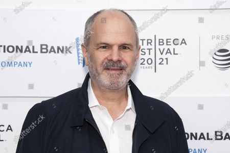 """Stock Picture of Michael Kantor attends the premiere of """"Rita Moreno: Just A Girl Who Decided To Go For It"""" during the 20th Tribeca Festival at Pier 76, in New York"""