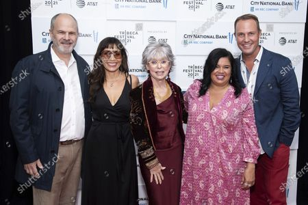 """Editorial photo of 2021 Tribeca Festival - """"Rita Moreno: Just A Girl Who Decided To Go For It"""" Premiere, New York, United States - 12 Jun 2021"""