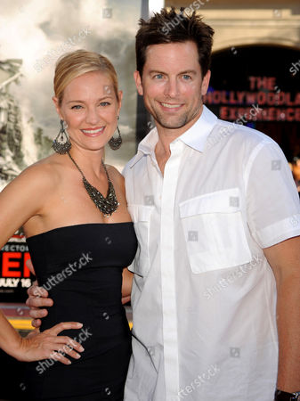 Stock Image of Sharon Case and Michael Muhney