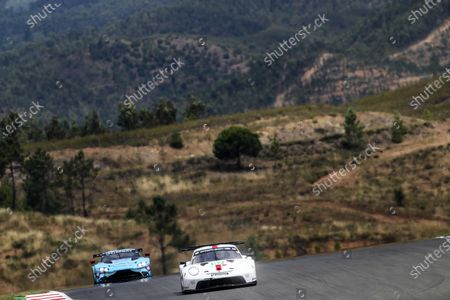 ALGARVE INTERNATIONAL CIRCUIT, PORTUGAL - JUNE 13: #92 Porsche GT Team Porsche 911 RSR - 19: Kevin Estre, Neel Jani, Michael Christensen at Algarve International Circuit on Sunday June 13, 2021 in Portimao, Portugal. (Photo by LAT Images)