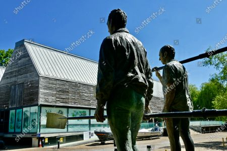 Statues of Olympic Rowers Sir Steve Redgrave and Matthew Pinsent in the grounds. The River & Rowing Museum in Henley hopes to wipe out its debts in three years time.The venue has lost an average of £300,000 per year over the past decade and this has been made worse by the lack of visitors during the coronavirus pandemic when it was closed.It recently received permission from South Oxfordshire District Council, the planning authority, to convert space currently used for education into office space.This would be rented out to companies and provide a reliable source of income for the museum in Mill Meadows