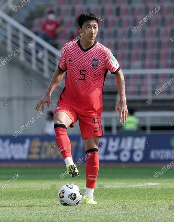 Editorial image of South Korea v Lebanon, 2022 FIFA World Cup Asia qualification, Round 2, Group H, football, Goyang Stadium, Goyang, South Korea - 13 Jun 2021