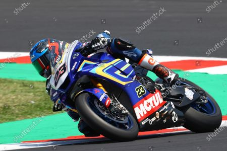 MISANO WORLD CIRCUIT MARCO SIMONCELLI, SAN MARINO - JUNE 13: Christophe Ponsson, Gil Motor Sport - Yamaha at Misano World Circuit Marco Simoncelli on Sunday June 13, 2021 in Misano Adriatico, San Marino. (Photo by Gold and Goose / LAT Images)