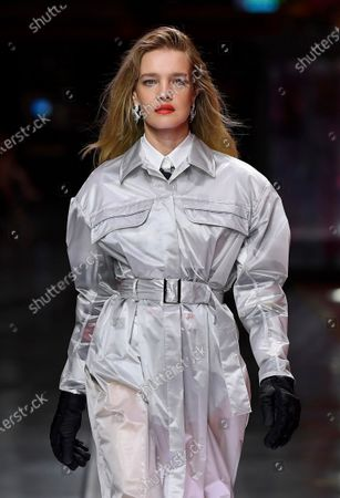 Natalia Vodianova on the catwalk
