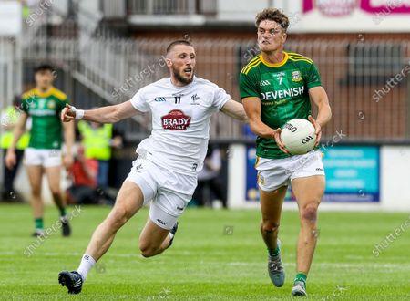 Kildare vs Meath. Kildare's Neil Flynn and Fionn Reilly of Meath