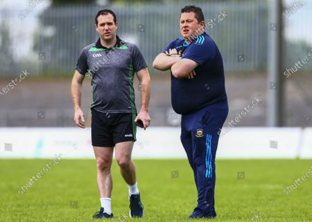 Editorial image of Allianz Football League Division 3 Relegation Play-off, Glennon Brothers Pearse Park, Longford - 13 Jun 2021