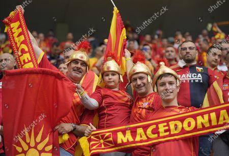 Austria v North Macedonia
