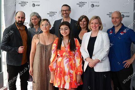 Stock Image of Aaron Wickenden, Eileen Meyer, Jeff Daniels, Kylie Dega, Amanda Spain, Ellen Moore, Todd Griffin