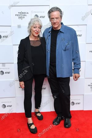 Stock Image of Marianne Leone Cooper and Chris Cooper